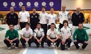 Equipos, arbitros y pinches