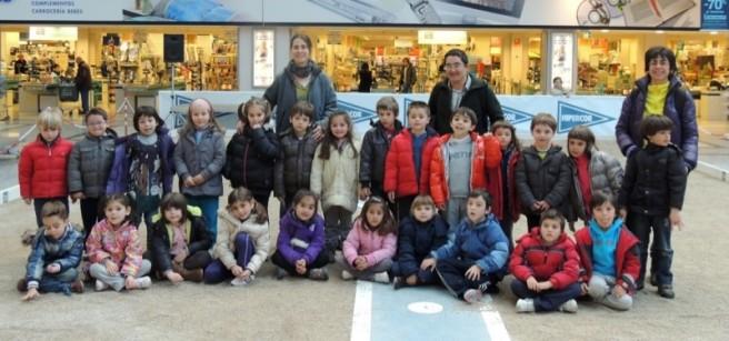 Alumnos de Educación Infantil del colegio Eloy Villanueva (Monte)