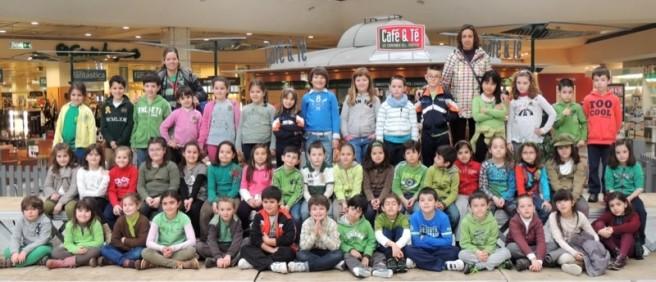 Primer Ciclo de Primaria del colegio Manuel Cacicedo de San Román de la Llanilla