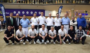 Equipos, árbitros y armadores