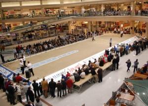 Una bolera en el Centro Comercial